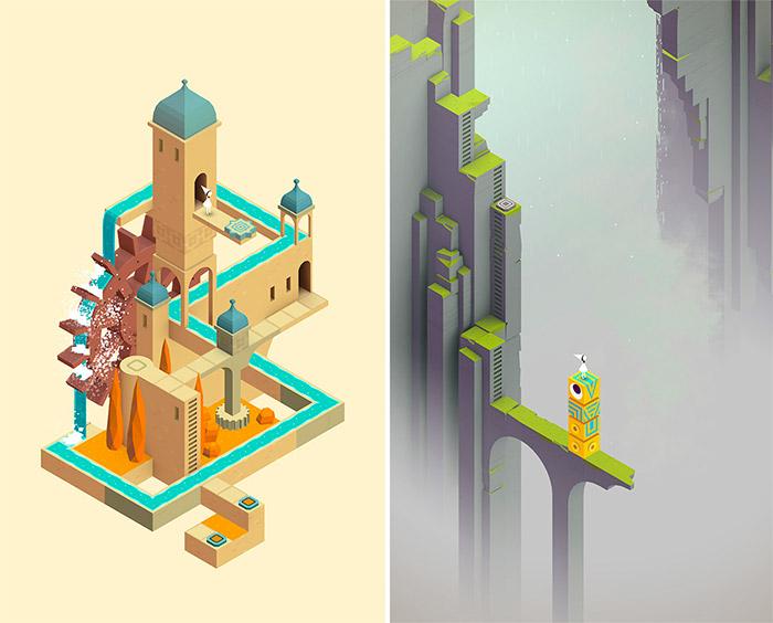 8 nuevos niveles de Monument Valley