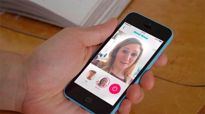 Aplicación de vídeo mensajes