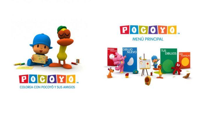 App Colorea con Pocoyó y sus Amigos
