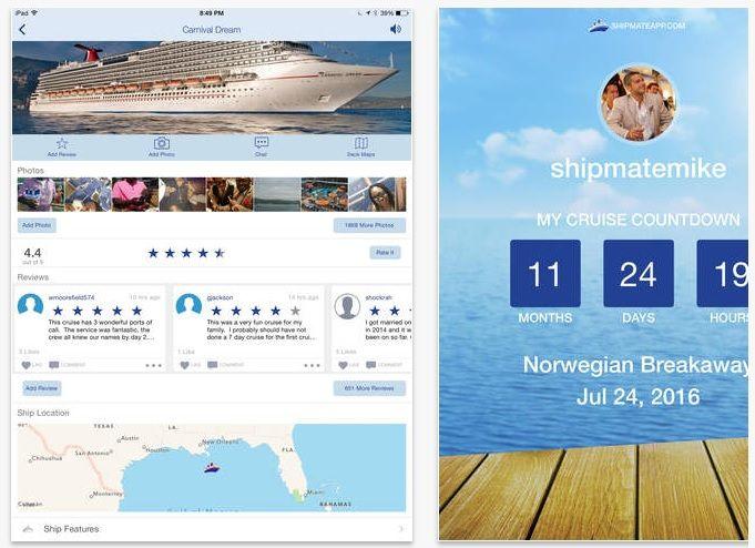 App Cruise Ship Mate