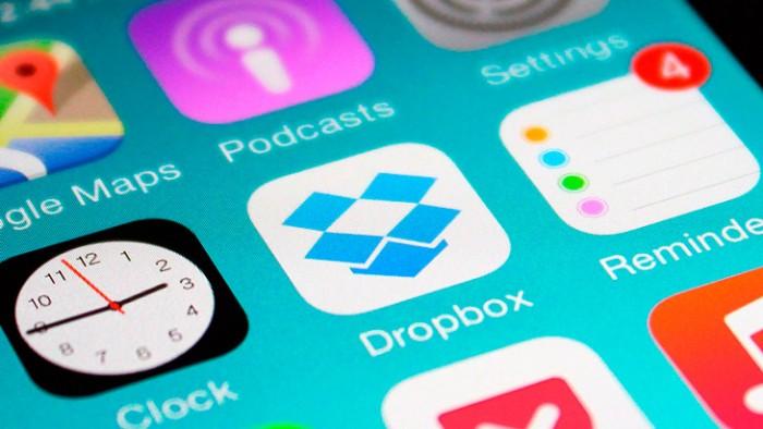 App Dropbox en iOS