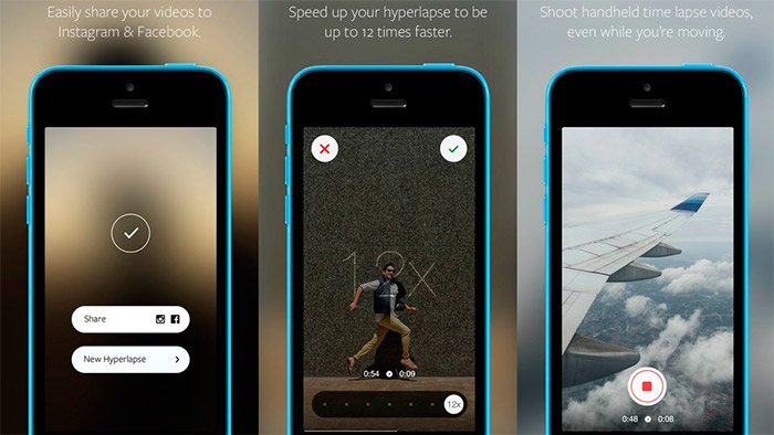App Hyperlapse para iOS