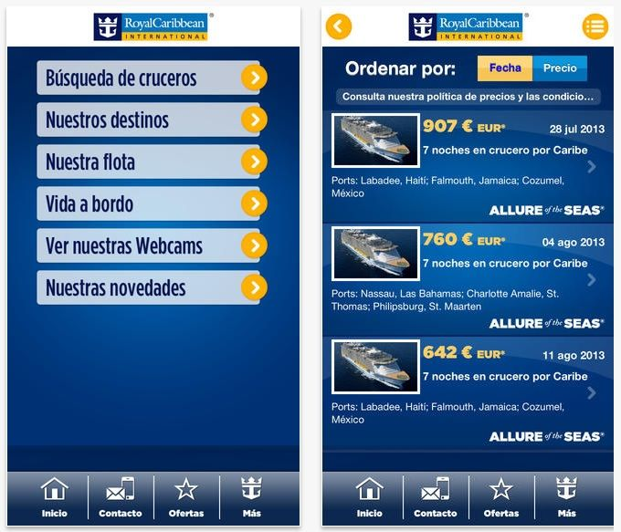 App Royal Caribbean International