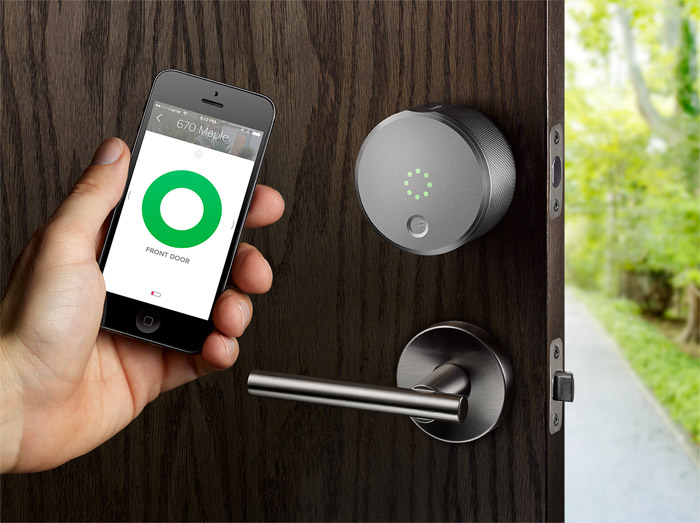 August Smart Lock con iPhone