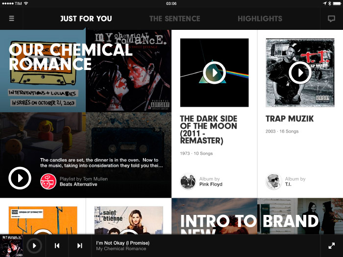 Beats Music Player