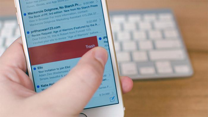 Borradores de correos iOS 8