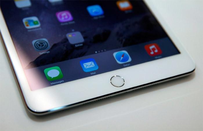 Botones del iPad Mini 3