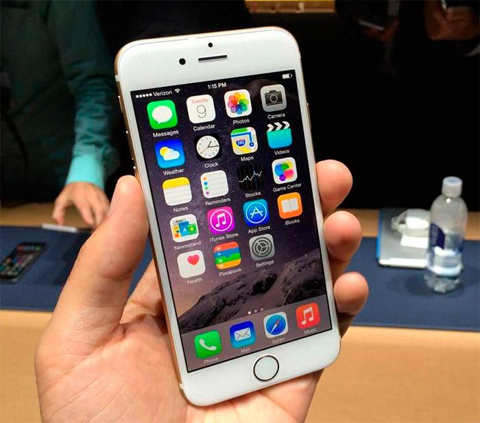 Bug detectado en los iPhone 6 Plus