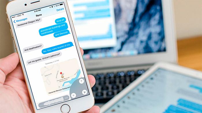 Cómo enviar mensajes de voz desde iMessage