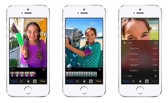 Cámara en iOS 8