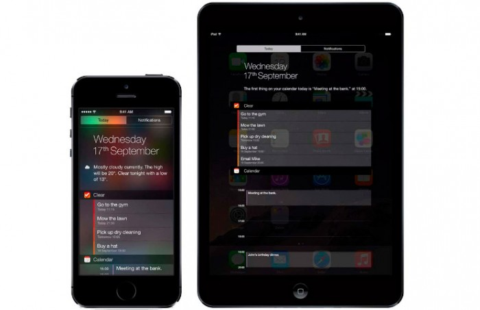 Cómo añadir y quitar widgets en iOS 8