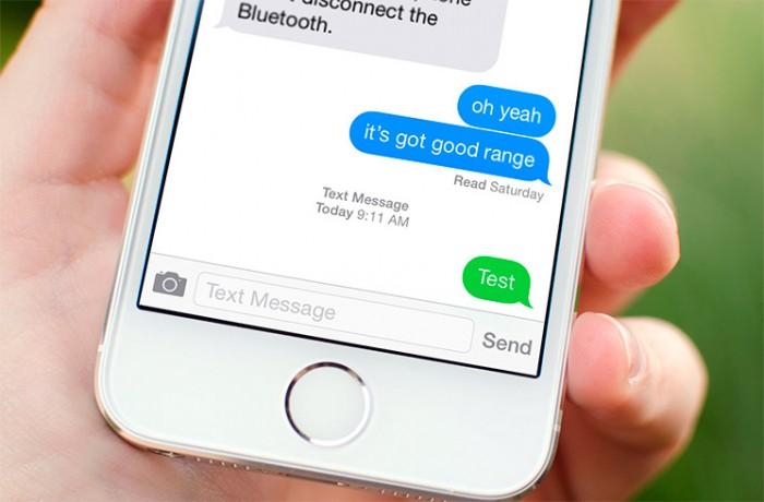 Cómo enviar mensajes desde iMessage