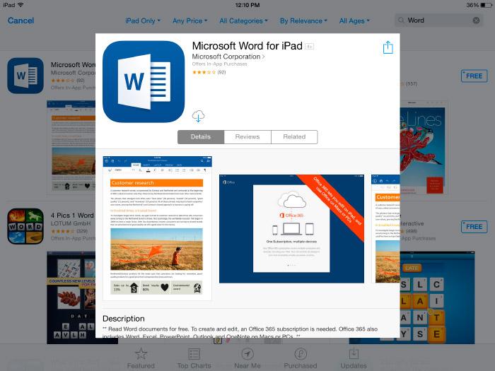 Cómo volver a descarga aplicaciones compradas en iPad