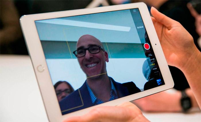 Camara del iPad Air 2