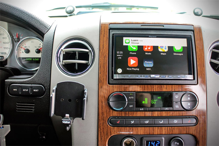 CarPlay en el coche