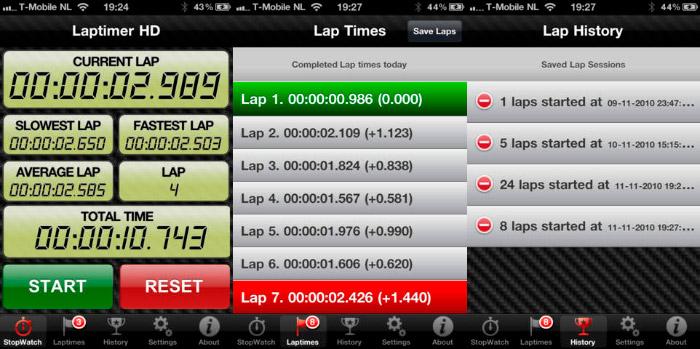 Carreras de Cronómetro HD