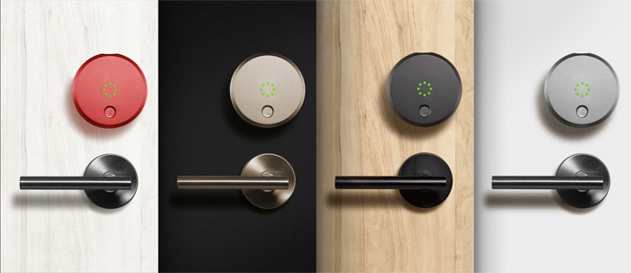 Colores del August Smart Lock