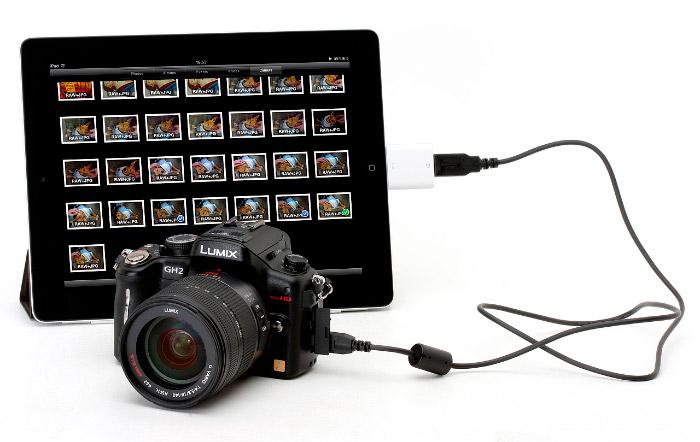 Como importar fotos desde una cámara al iPad