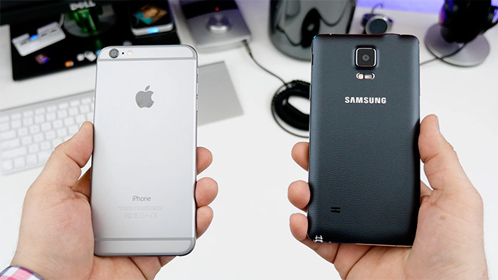 Comparativa iPhone 6 Plus vs Note 4