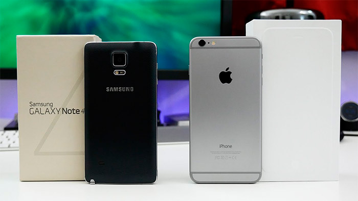 Comparativa iPhone 6 Plus vs Samsung Galaxy Note 4