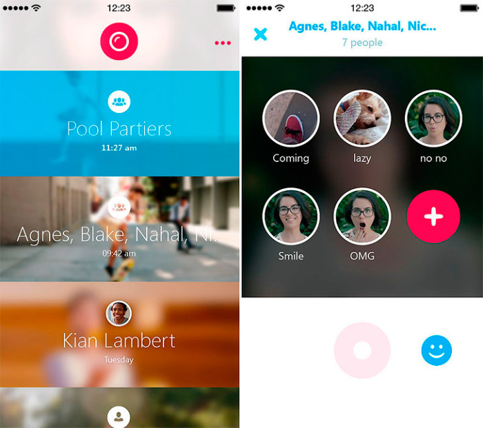 Compartir videos con Skype Qik