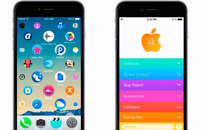 Concepto iOS 9