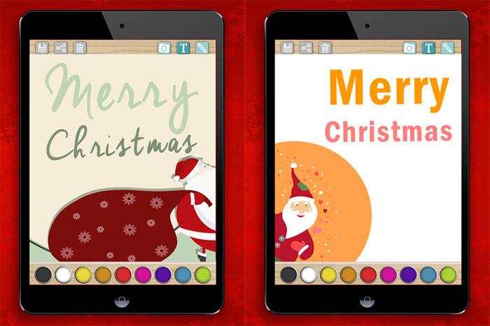 Crea tarjetas de Navidad