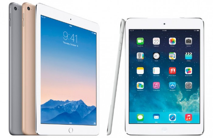 Diferencias iPad Air frente al iPad Air 2