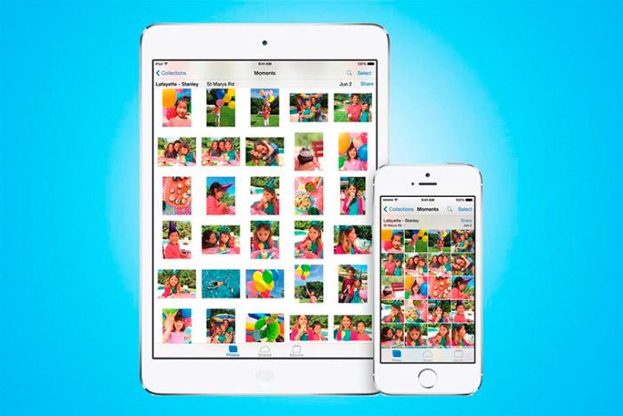Diversos formatos del iCloud