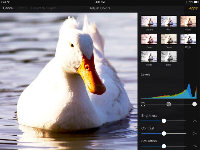 Editar imagenes con Pixelmator