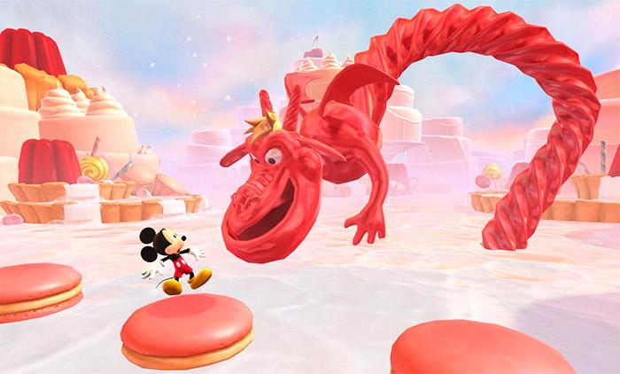 Escenarios del Castle of Illusion de iOS