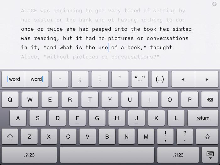 Escribir en iPad con iA Writer