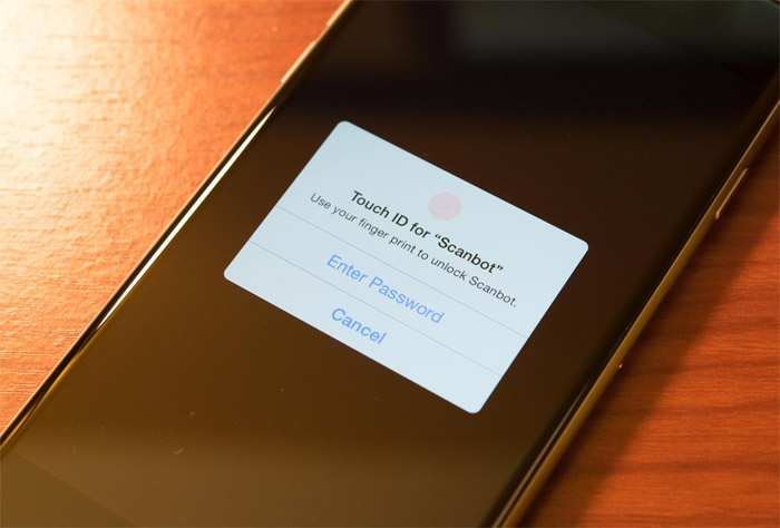 Formas desbloqueo con Touch ID