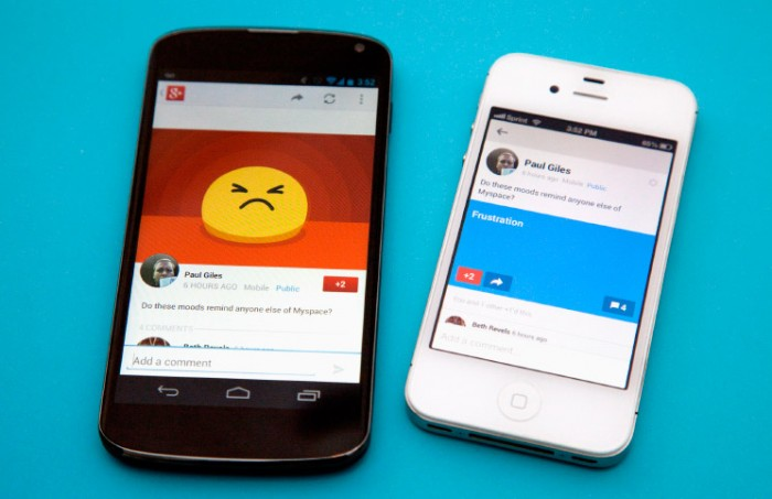 Google+ ya está en iPhone 6