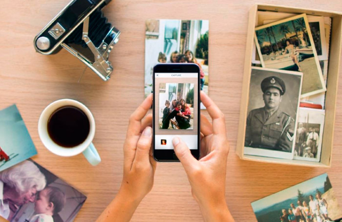 Heirloom, digitalizar tus fotos de forma sencilla