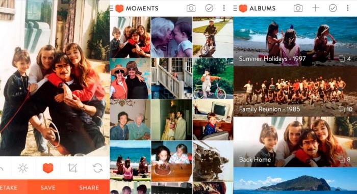 Heirloom, digitalizar tus fotos