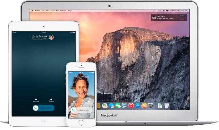 Integración de iOS 8 con Handoff