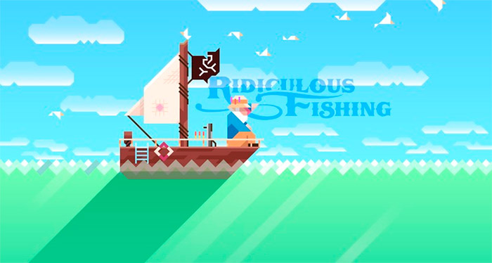 Juego iOS Ridiculous Fishing