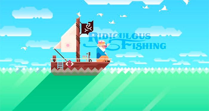 Juego iOS Ridiculous Fishing
