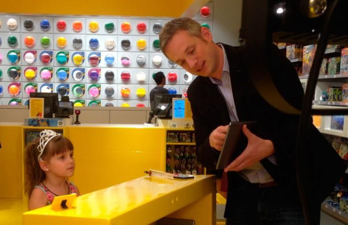 Magia con fichas Lego y un iPad