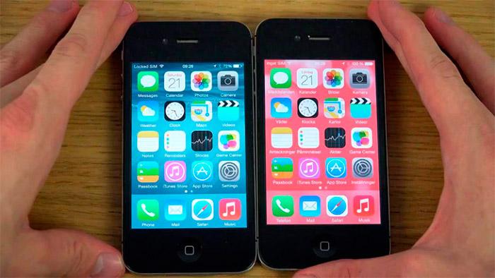 Mejorar el rendimiento del iPhone 4s con iOS 8