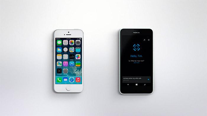 Microsoft se burla de Apple y de Siri