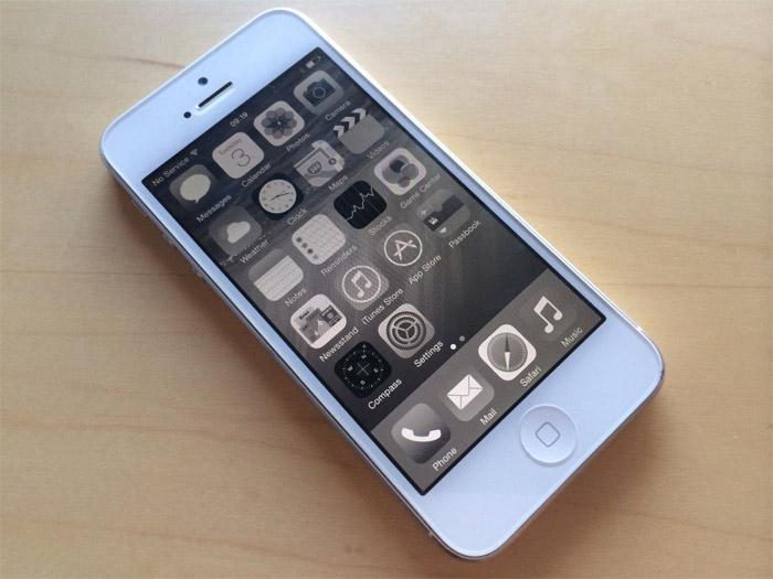 Modo alto contraste en iOS 8
