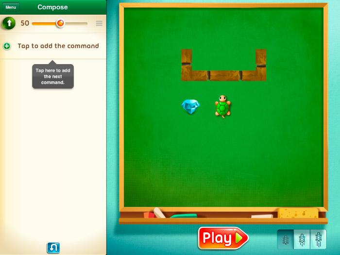 Move the turtle en iPad