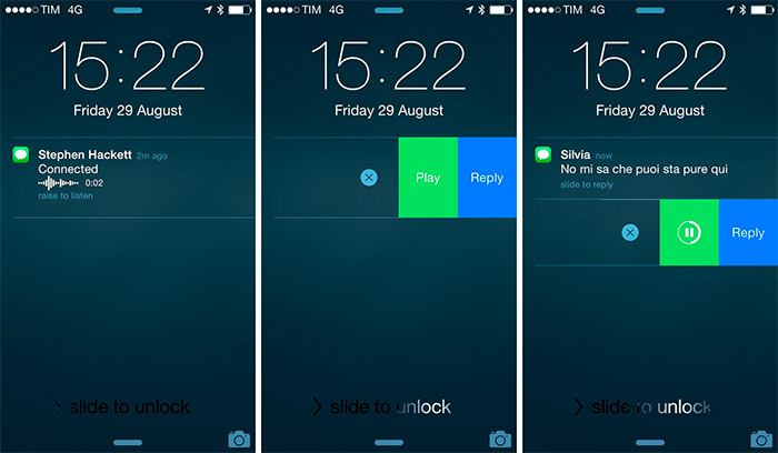 Notificaciones interactivas en iOS 8