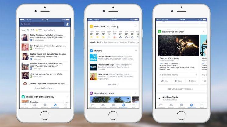 Notify, aplicación de noticias de Facebook para iPad
