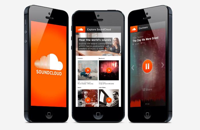 Nueva actualización de SoundCloud