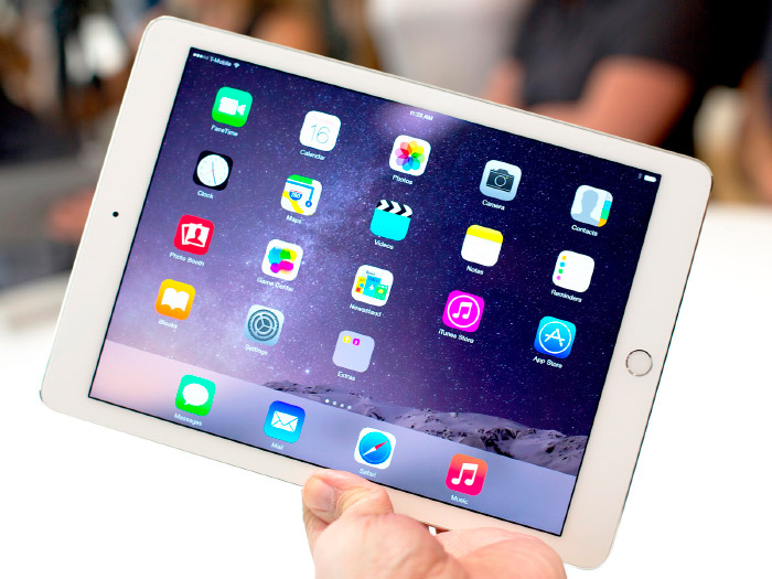 Pantalla del iPad Air 2