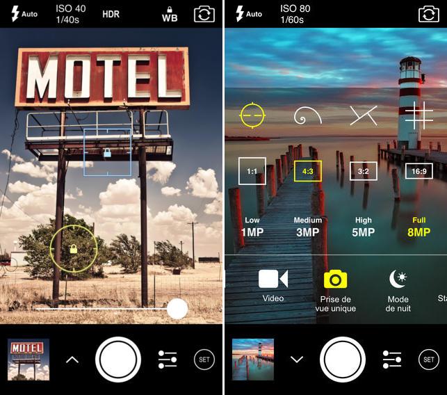 ProCam 2, app de foto para iPhone
