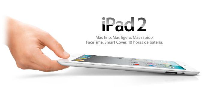 Publicidad Apple del iPad 2